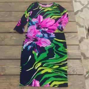 Fashion to Figure - Bold Floral Dress